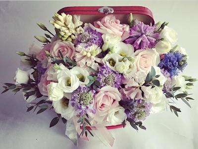 Miss Fleur – Aranjament floral Beauty Case