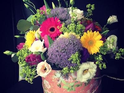 Miss Fleur – Aranjament floral Purple Allium