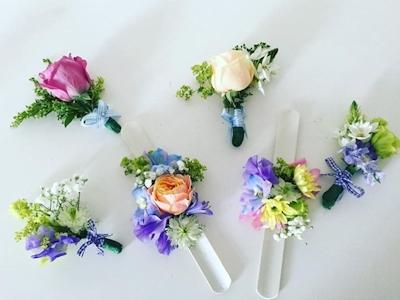 Miss Fleur – Set corsaje si cocarde